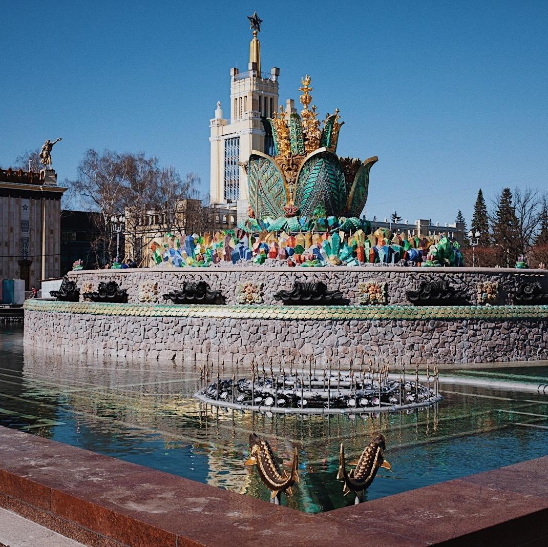 «Полюбуйтесь на обновлённый фонтан на ВДНХ» фото 1