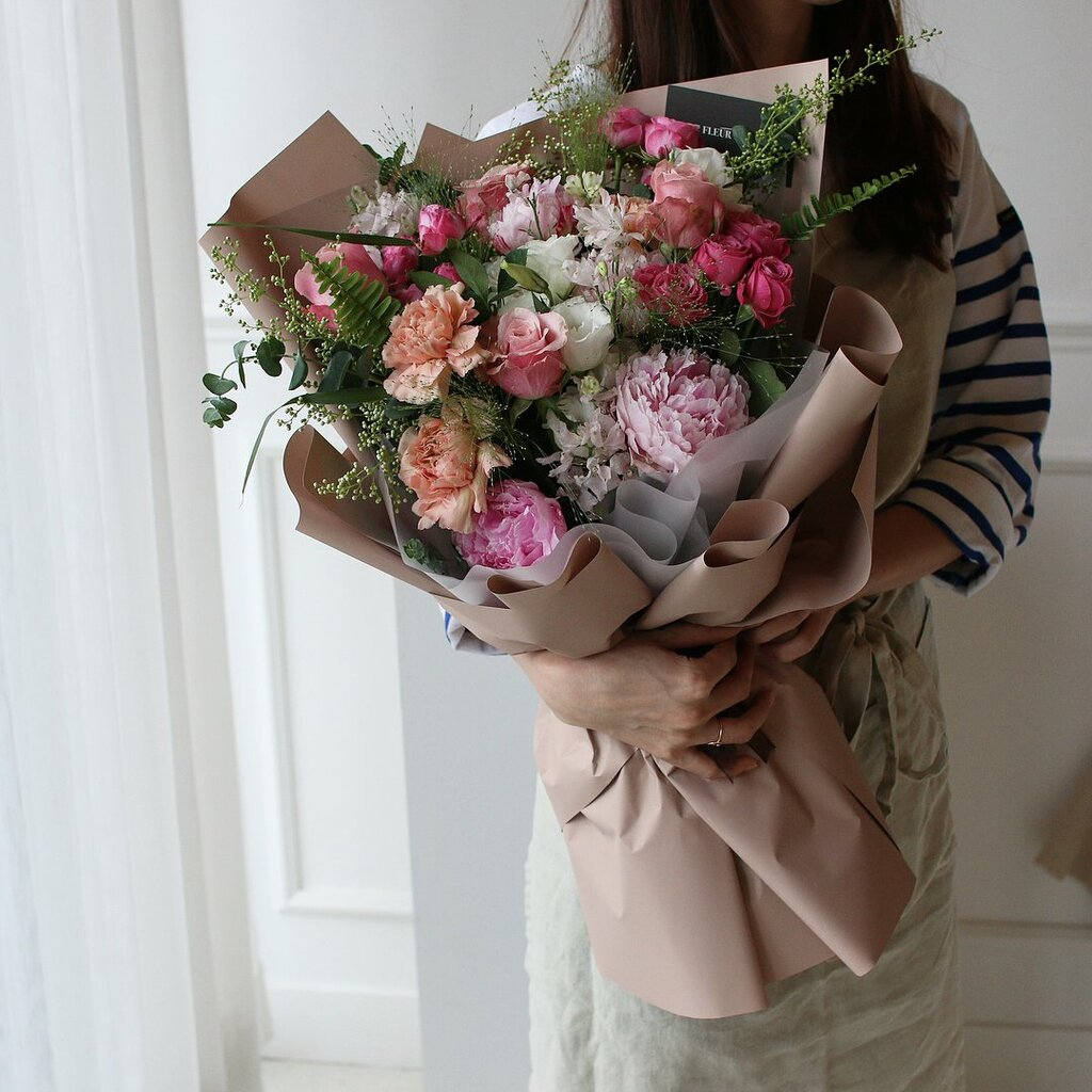 доставка цветов и букетов — Kinza Flowers — Краснодар, фото №3