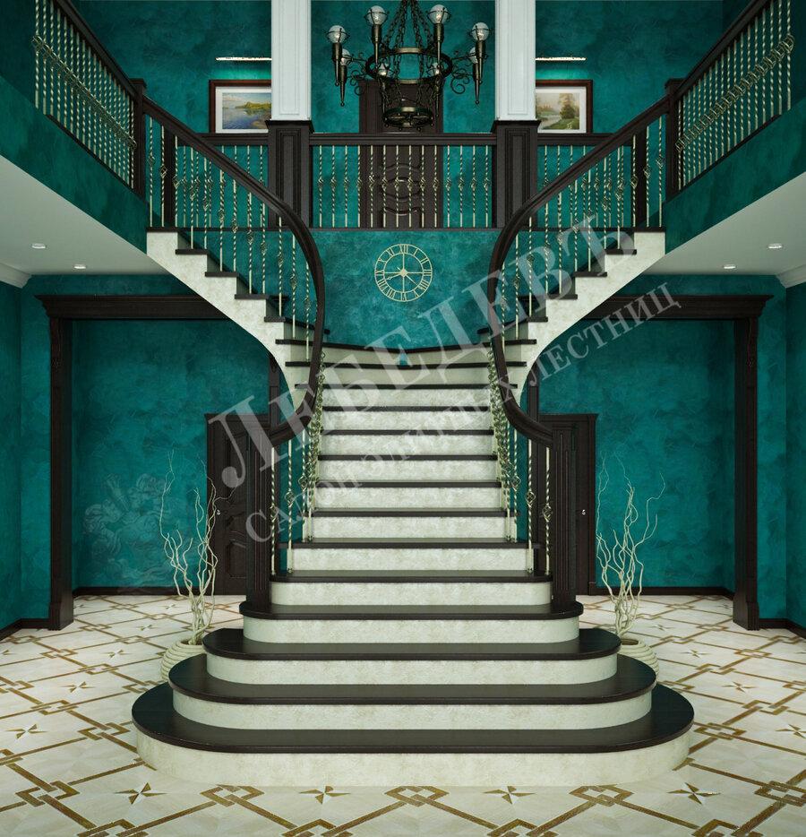 лестницы и лестничные ограждения — Лебедевъ — Владимир, фото №2