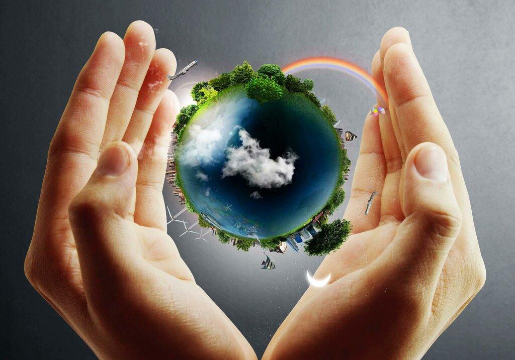 Рождением, картинки земли в руках человека