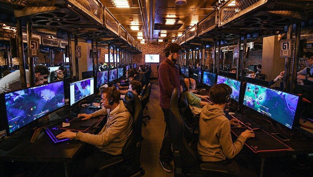 игровой клуб — Cyber Loft — Москва, фото №4