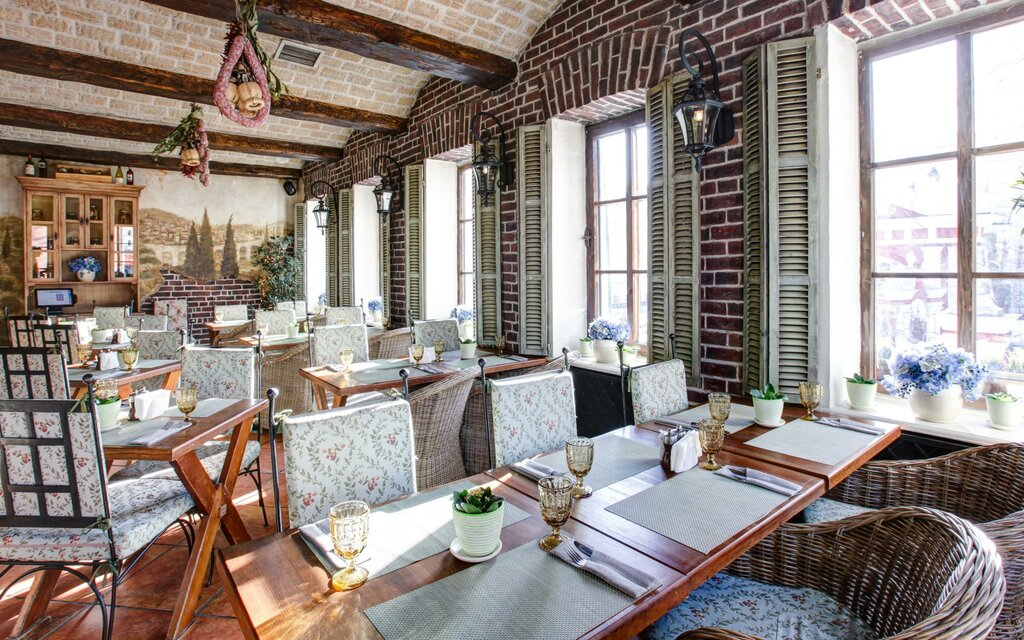 ресторан — Итальянский ресторан Villa della Pasta — Москва, фото №5