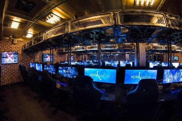 игровой клуб — Cyber Loft — Москва, фото №2