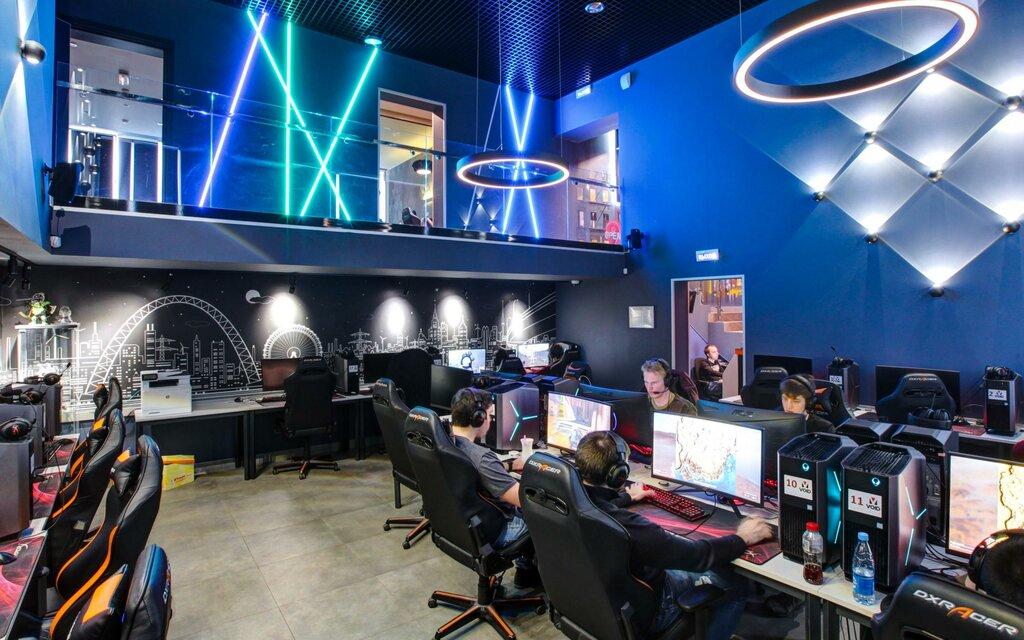 компьютерный игровой клуб москва на карте