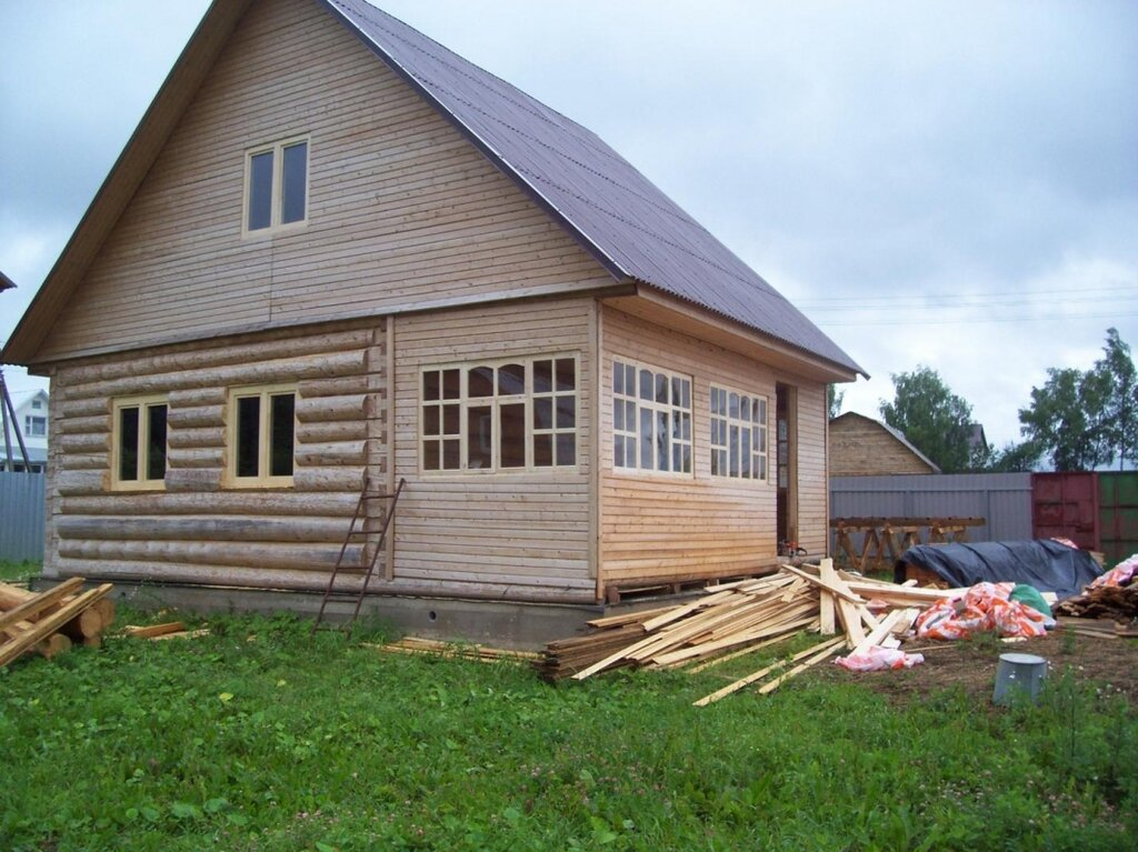 этой как построить дом в деревне фото была