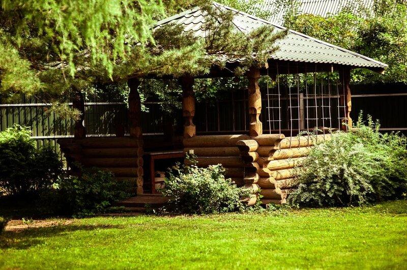 Загородный дом Изба в традиционном русском стиле