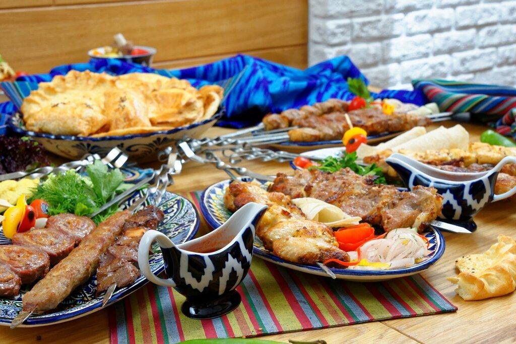 узбекский стол фото печенье простых доступных