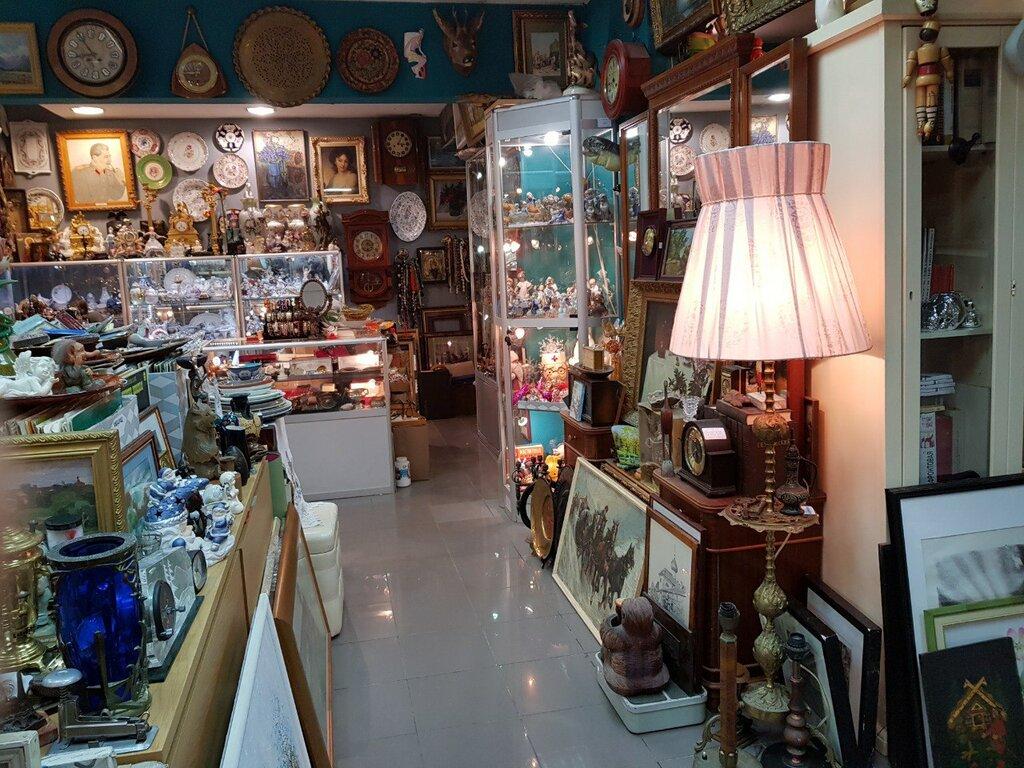 Антикварный магазин картинки, открытка днем
