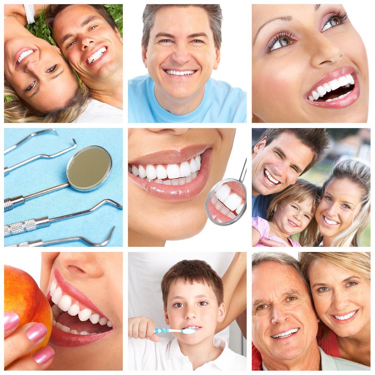 поможет рисунок здоровые зубы или белоснежная улыбка что куда