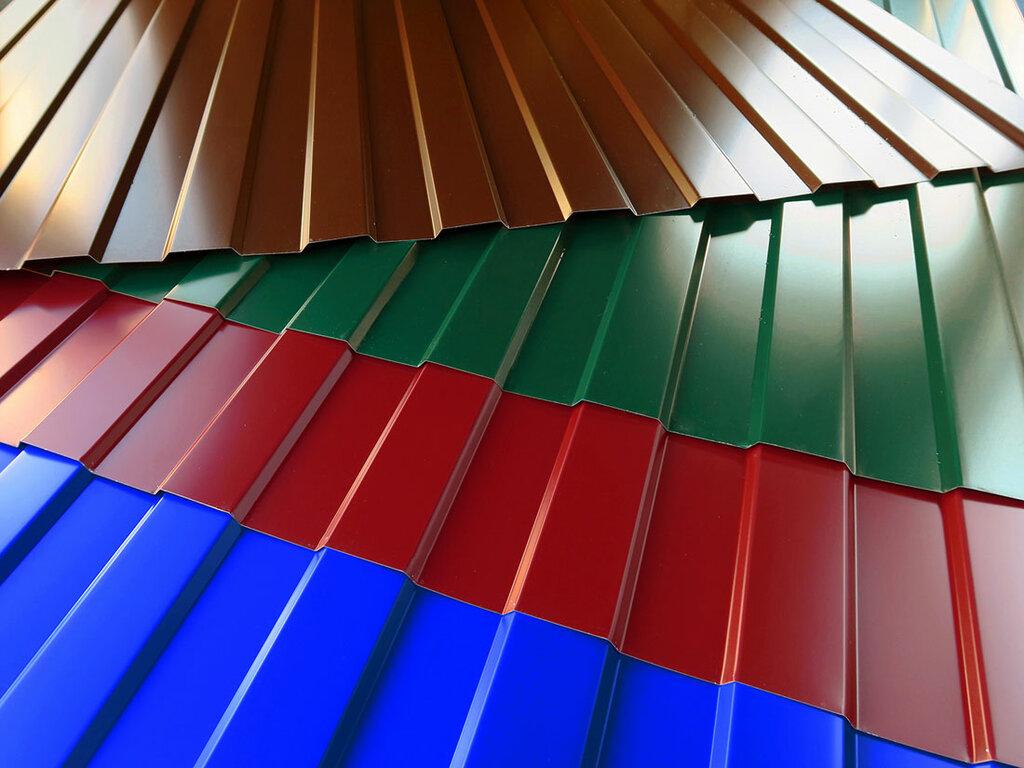 цвета профиля для крыши