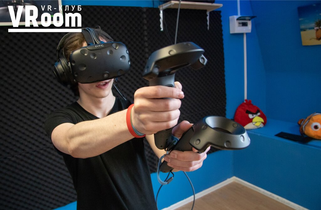 клуб виртуальной реальности — VRoom VR-Клуб — Москва, фото №2