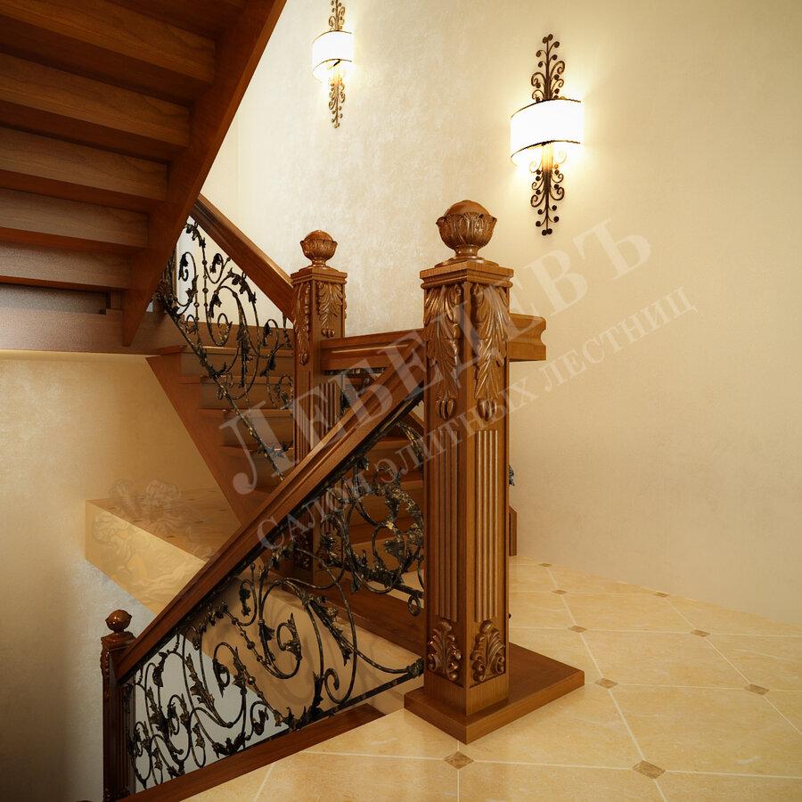 лестницы и лестничные ограждения — Лебедевъ — Владимир, фото №1