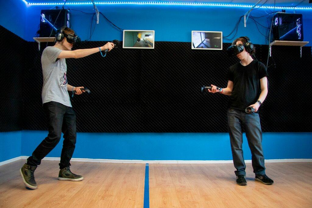 клуб виртуальной реальности — VRoom VR-Клуб — Москва, фото №1