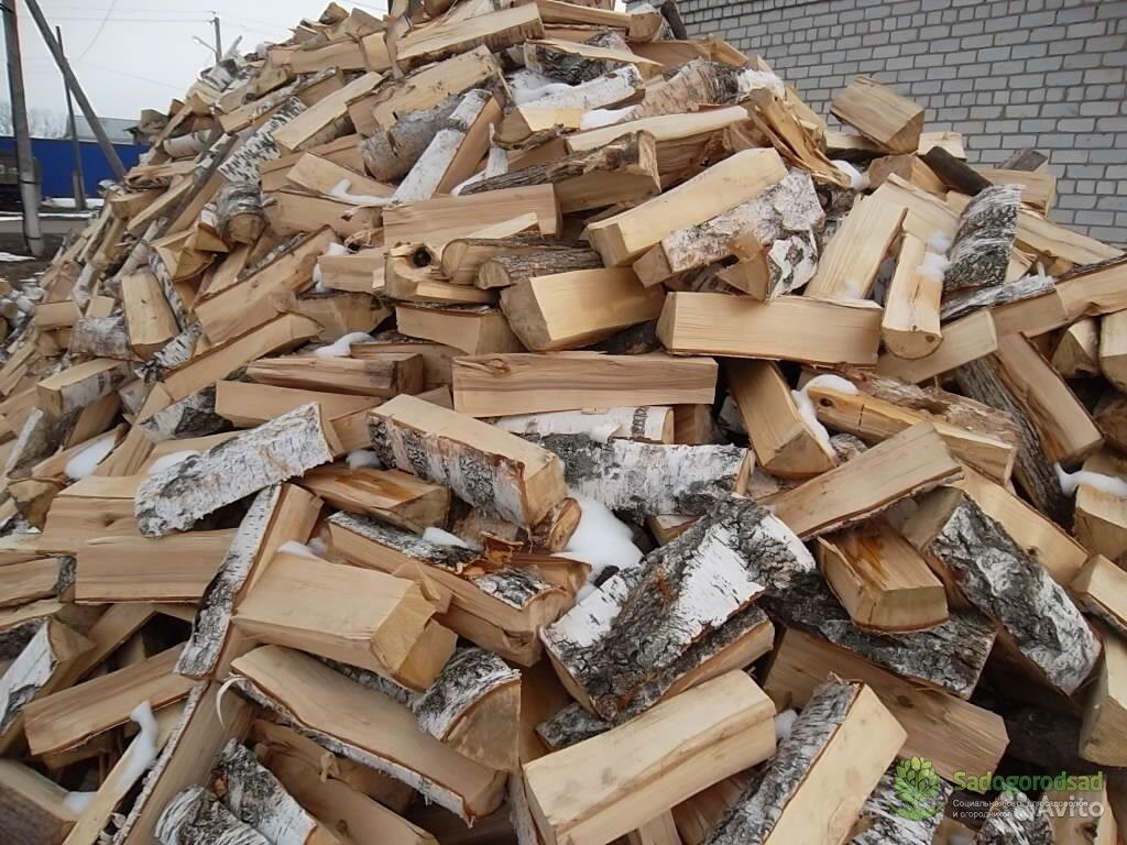 купить дрова березовые колотые с доставкой цена