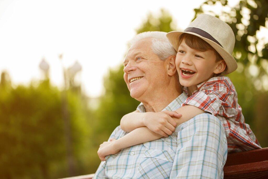 Открытка, картинки о внуках