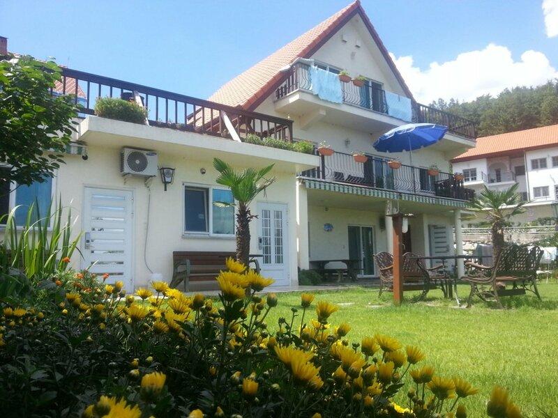 Namhae German Village Neuhaus in Korea