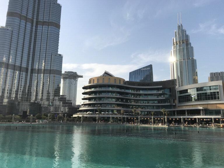 бизнес-центр — Бурдж-Халифа — Дубай, фото №2