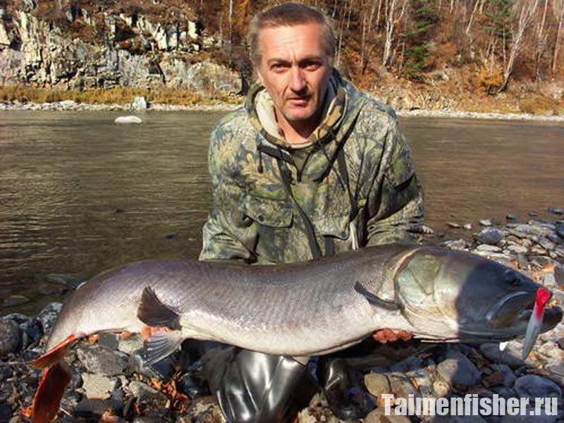 Горная рыбалка в хабаровском