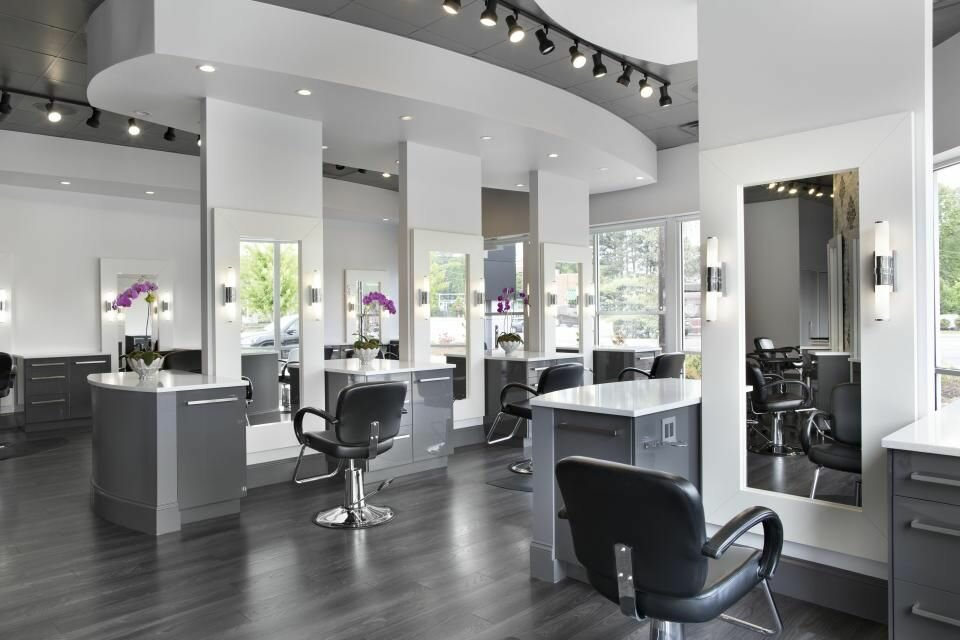 найдете супер оформление парикмахерского салона фото уверял хозяин