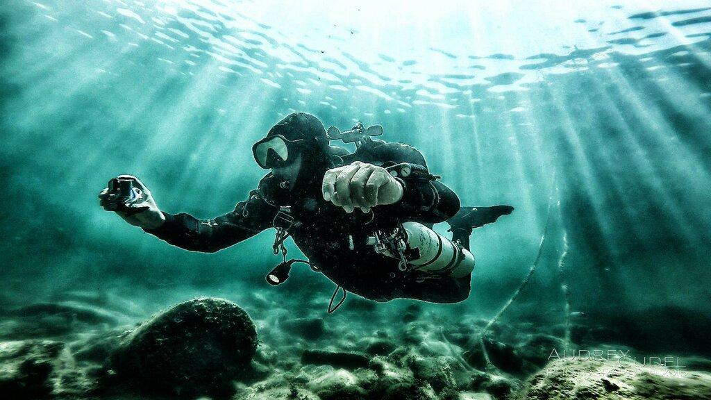 подводные фотографии водолазов что