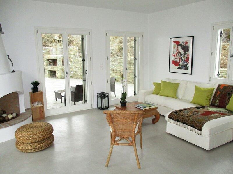 Mansion at Chora in Andros