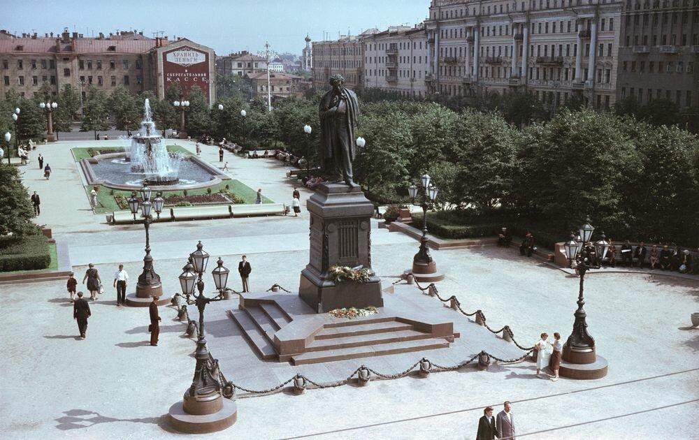 достопримечательность — Пушкинская площадь — Москва, фото №5