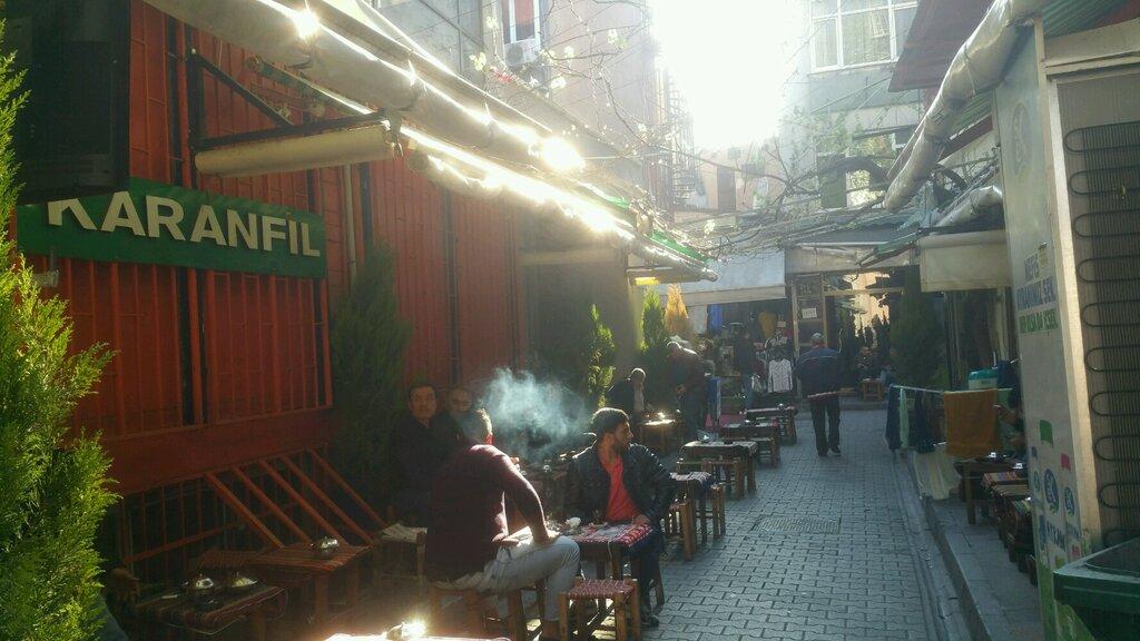 kafe — Karanfil Çay Bahçesi — Fatih, foto №%ccount%