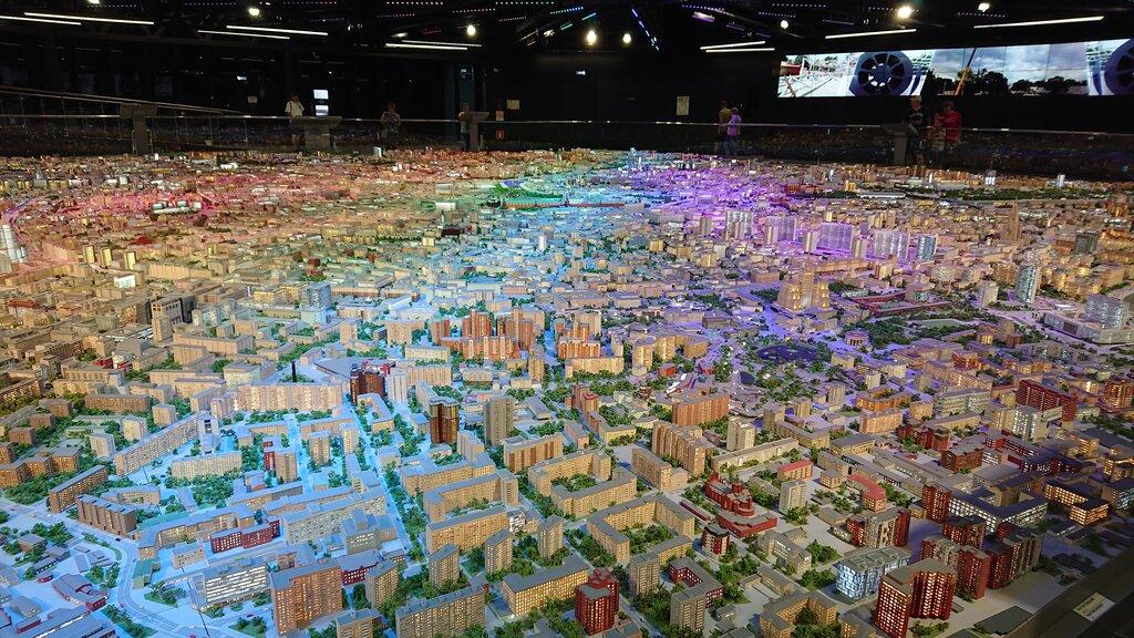 выставочный центр — Макет Москвы — Москва, фото №9