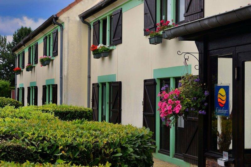 Hotel Restaurant La Chaumiere Les Mureaux-Flins
