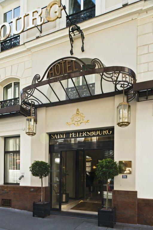 Hôtel Saint Petersbourg Opéra