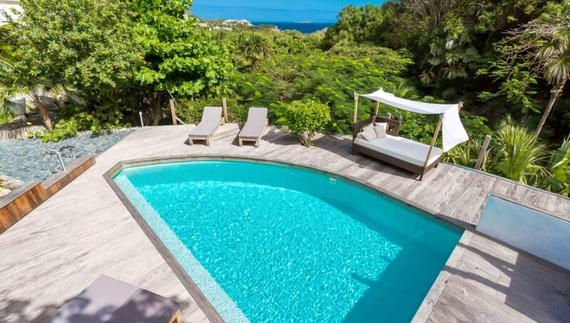 Villa With 4 Bedrooms in Gustavia, With Wonderful sea View, Private Pool, Enclosed Garden - 500 m From the Beach