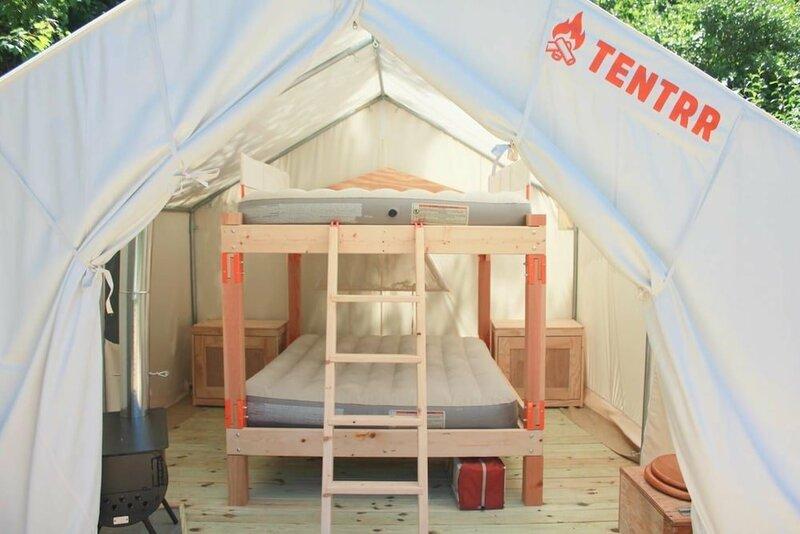 Tentrr - Sundown Camp- Campsite