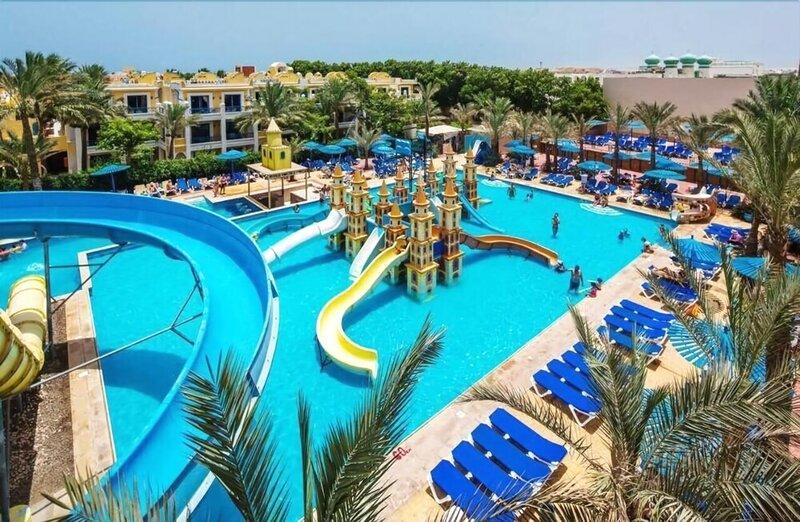 Hurgada Mirage Beach Chalet & Aqua Park