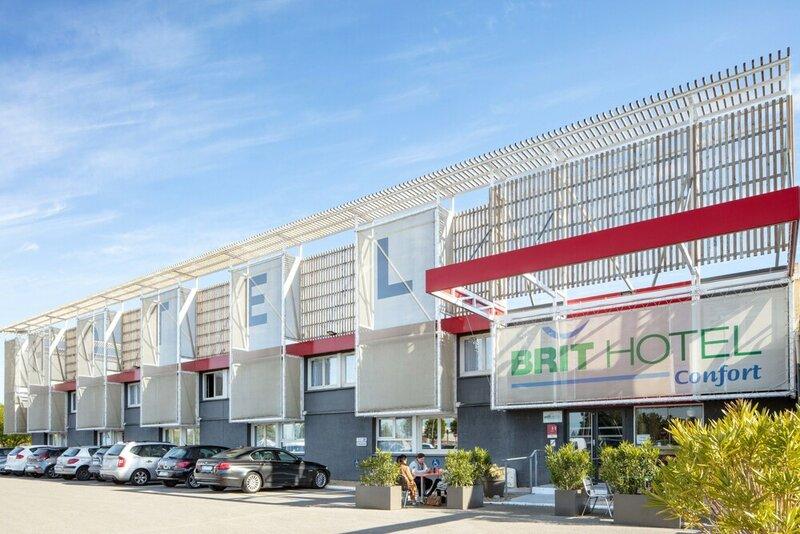 Brit Hotel Confort Montpellier Parc Expositions