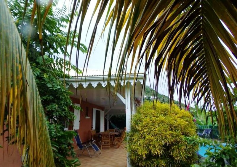 House With 2 Bedrooms in Les Anses-d'arlet, With Enclosed Garden and Wifi - 150 m From the Beach