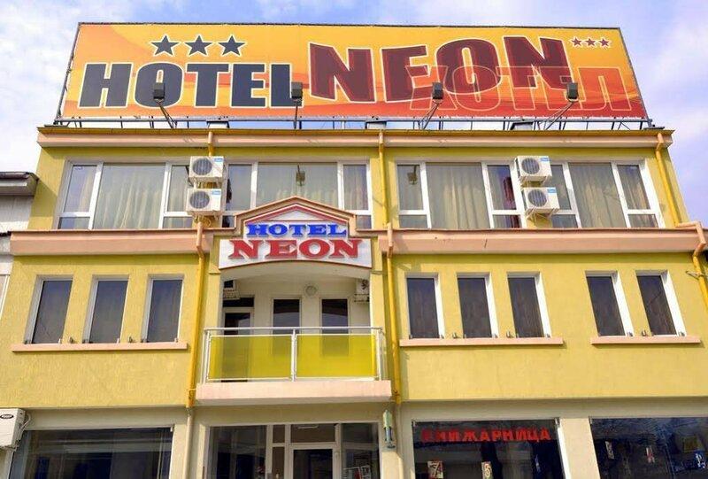 Neon Guest Rooms