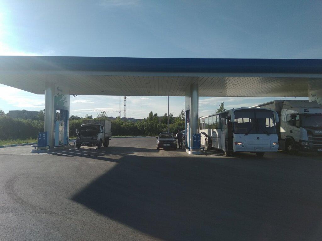 АГНС, АГЗС, АГНКС — Газпром газомоторное топливо, АГНКС — Тюмень, фото №2