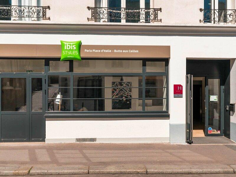 Ibis Styles Paris Place d'Italie Butte aux Cailles