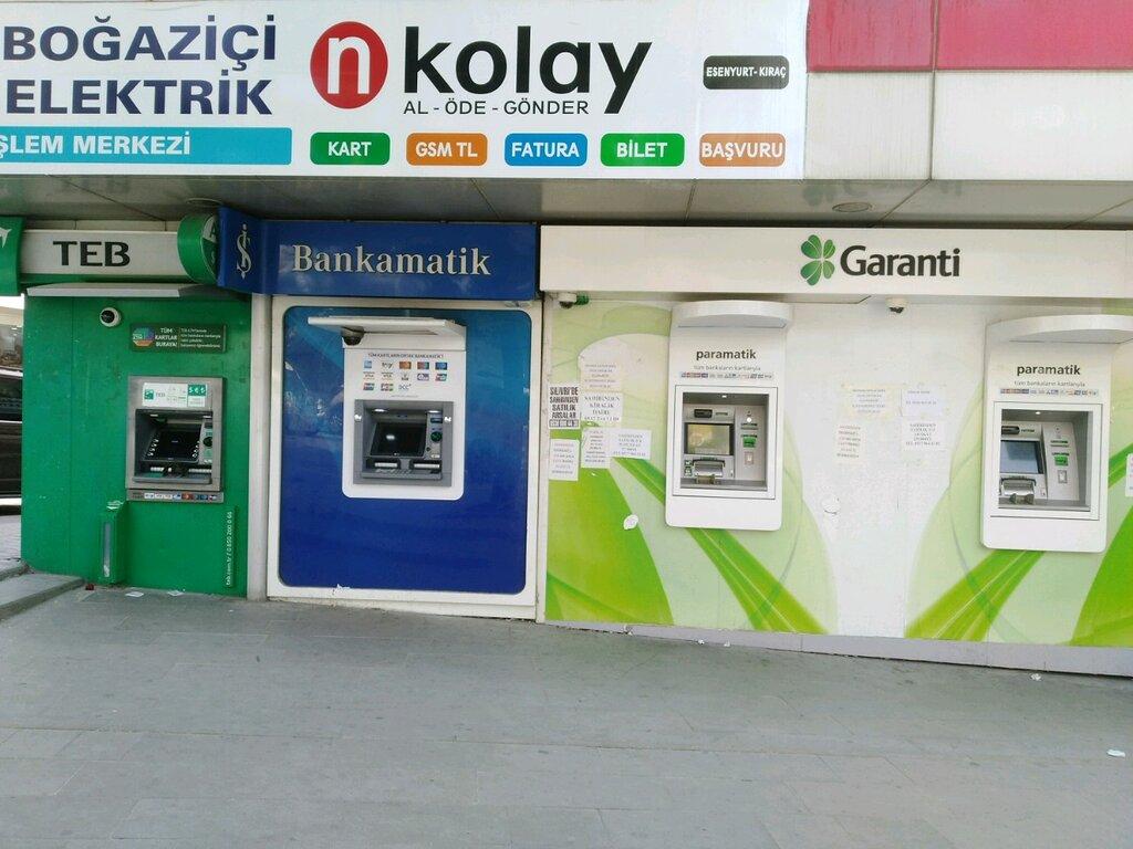 Turkiye Is Bankasi Bankamatik Atm Ler Cumhuriyet Caddesi