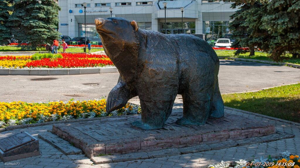фото пермского медведя знаку
