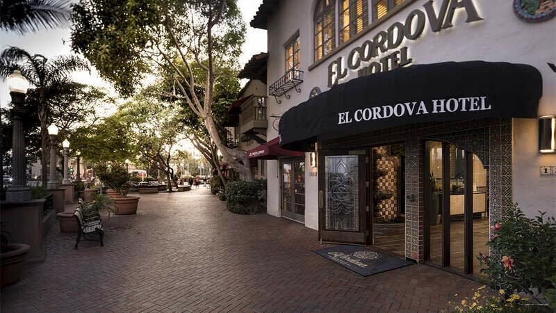 El Cordova Hotel on Coronado Island