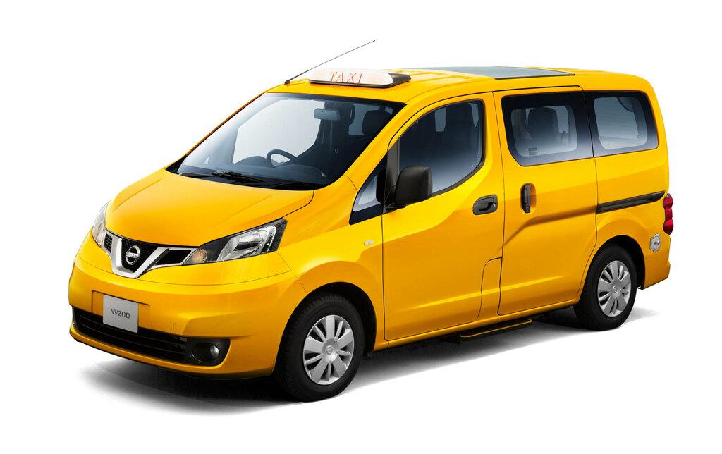 картинка минивэн такси тонко