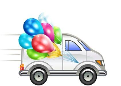 goods for holiday — Резиновая Зина - Воздушные шары с доставкой — Omsk, photo 1