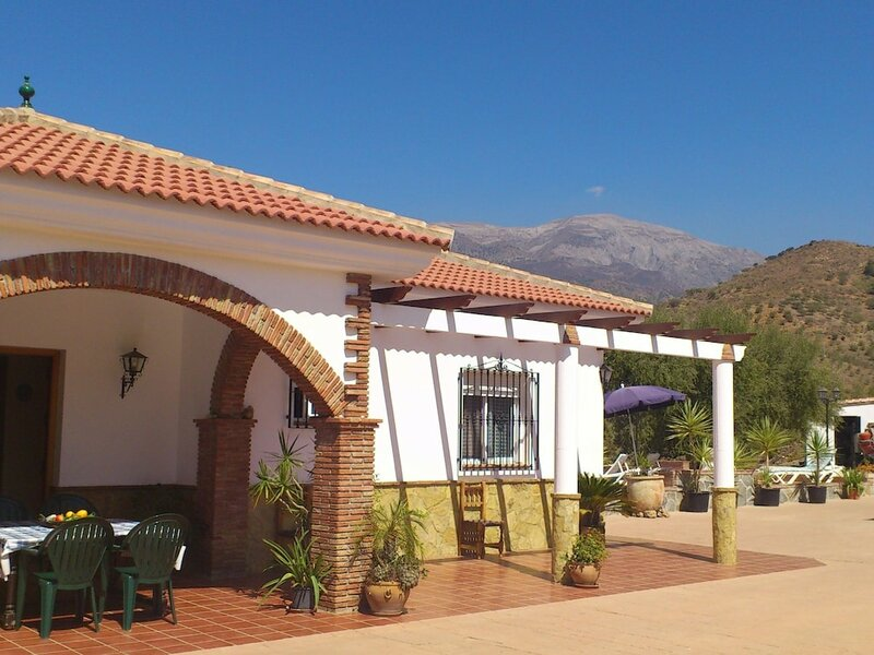Pleasing Villa in Canillas de Aceituno Amidst the Forest
