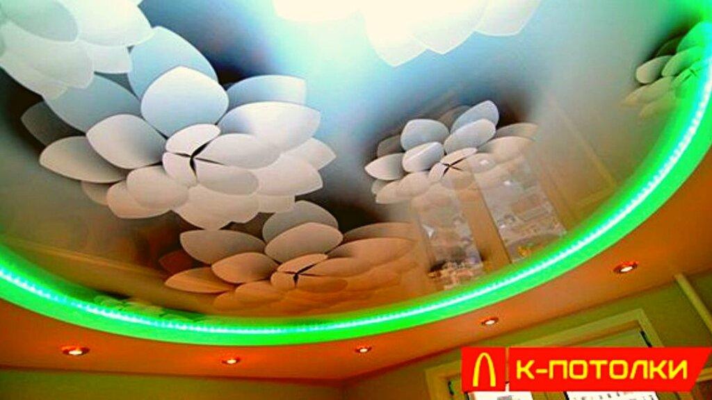 натяжные и подвесные потолки — К-потолки — Москва, фото №1