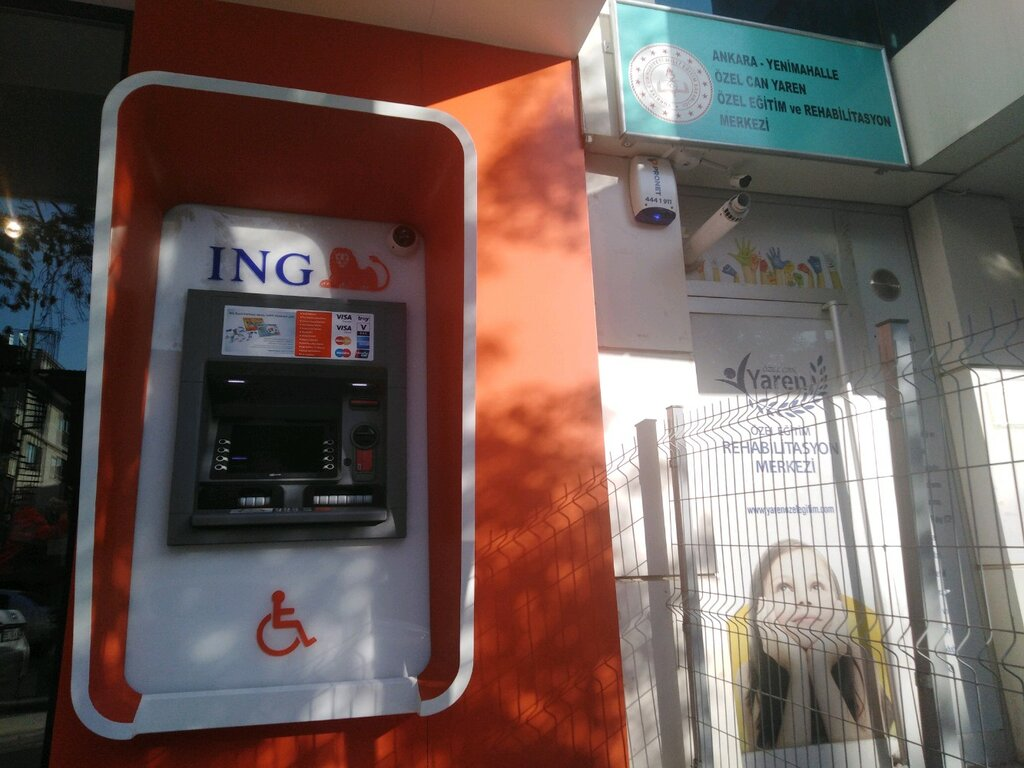 ATM'ler — Ing Bank ATM — Yenimahalle, foto №%ccount%
