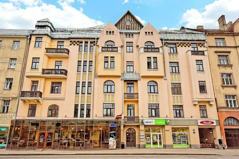 RigaApartment Gertruda — комплекс апартаментов и ресторан