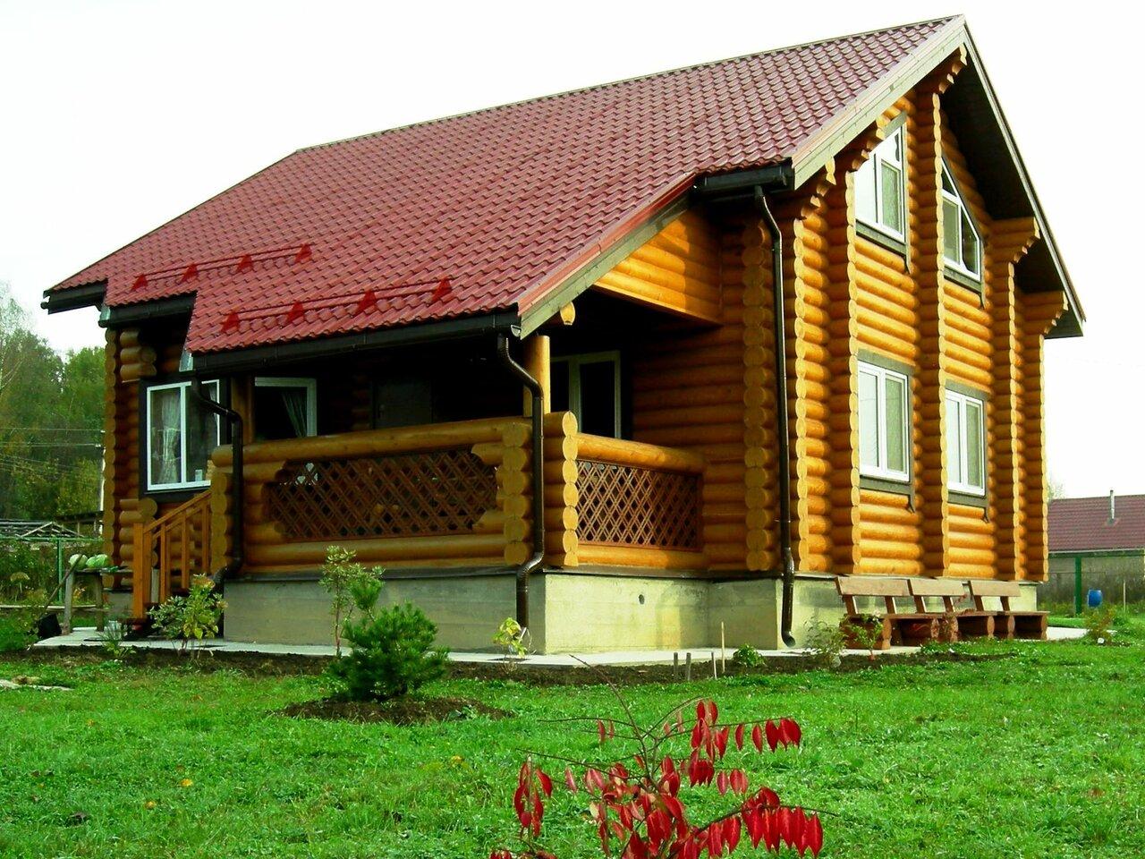 всех деревянный дом с бревенчатой верандой фото годы