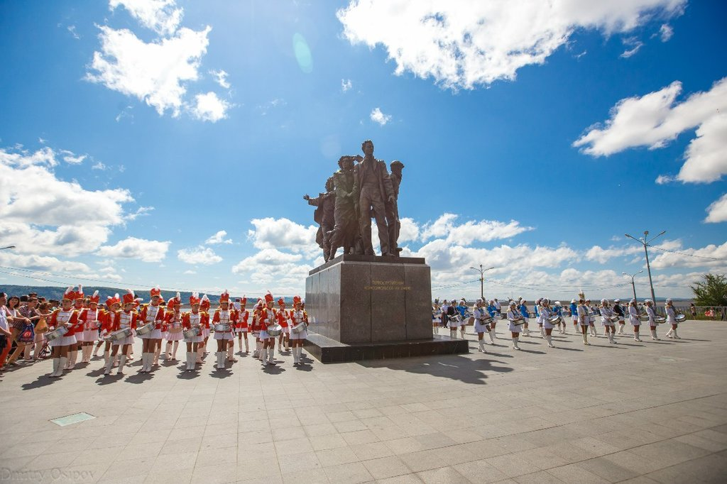 Город комсомольск на амуре фото