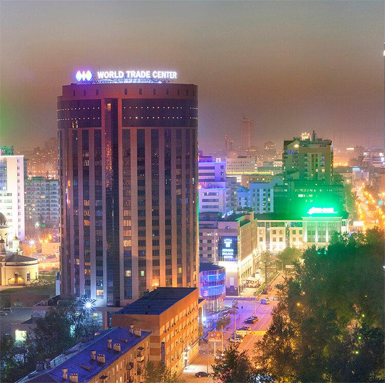 бизнес-центр — Центр международной торговли — Екатеринбург, фото №1